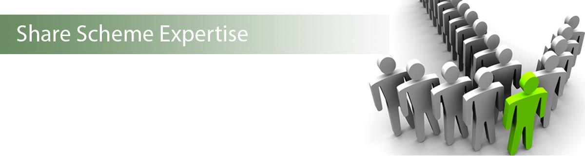 Share Scheme Expertise Banner